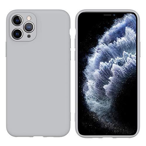 LARPOTE Funda iPhone 11 Pro, Case para móvil en TPU Silicona Ultradelgado Anti-Choque para Apple iPhone 11 Pro – Gris