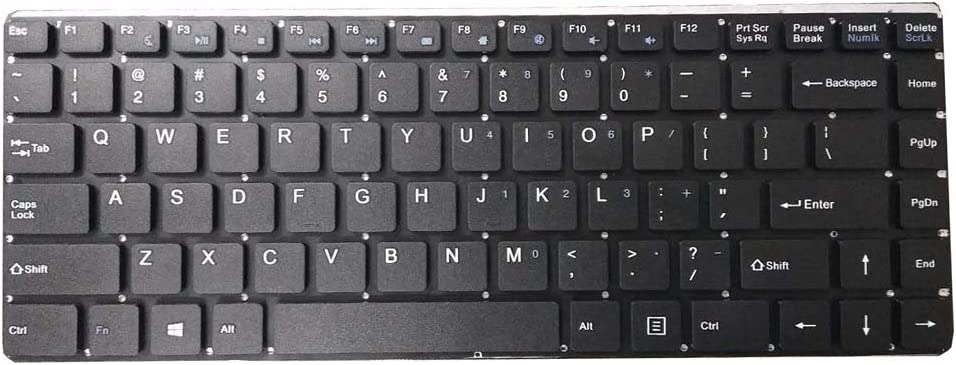 Laptop Keyboard for T-bao TBook X7 Plus 14.1 English US Black Without Frame New and Original