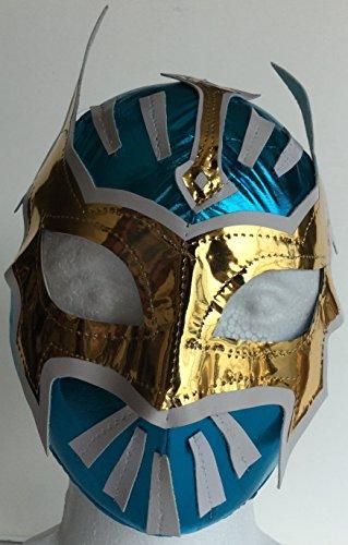 [SIN CARA Youth Lucha Libre Wrestling Mask - KIDS Costume Wear -] (Custom Wrestling Costumes)
