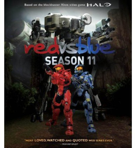 Blu-ray : Red Vs. Blue Season 11 (Blu-ray)