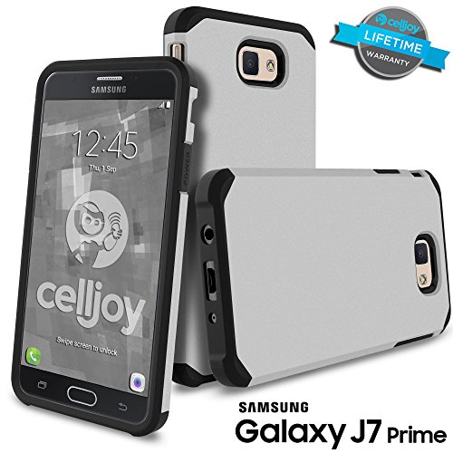 Slim Shockproof Case for Samsung Galaxy On7 (Silver) - 5