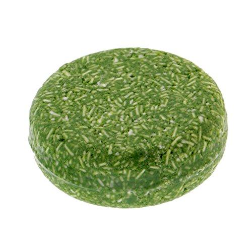 - MagiDeal 60g Handmade Hair Shampoo Soap Pure Natural Dry Shampoo Soap Hair Care - Mint Green