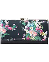 Ted Baker Balbara Oil Blossom Leather Matinee Purse