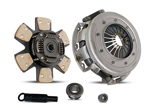 Mustang 5.0 Coupe - Clutch Kit Works With Ford Mustang Lx Gt SVT Cobra Convertible Coupe Hatchback Sedan 1/1986-2000 4.6L V8 GAS SOHC 5.0L V8 GAS OHV Naturally Aspirated (From 1/1986; 6-Puck Clutch Disc Stage 2)