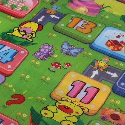 180X120 Large Baby Game Crawling Play Mat Children Alphabet Development Activity Rug