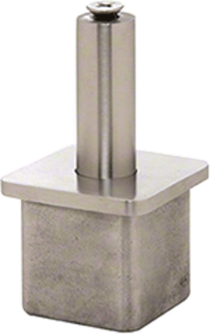 CRL Brushed Stainless P1-Series Vertically Adjustable Post Caps for Standoff Saddles