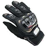 ZHHBeaty Motorcycle Gloves Bicycle Motorbike Powersports Racing Gloves Motocross Riding Racing Hunting Shooting Full Finger Gloves Outdoor Sports Women Men Christmas Gifts