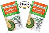 Moringa Leaf Powder – 7oz (2 Pack) Resealable Bag – 100% Raw From Ecuador – Protein Vitamins Antioxidants