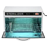 Anself 10W UV Towel Cabinet Sterilizer Salon Heater Sterilization Cabinet Towel Equipment
