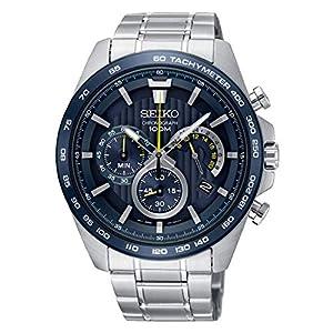 Seiko Analog Blue Dial Men's Watch-SSB301P1
