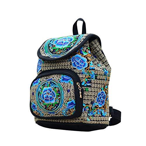Hale Tomlinson National Embroid Cnvas Children Ladies Schoolbag Backpack