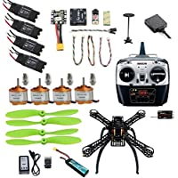 QWinOut 2.4G 8CH Mini RC Quadcopter ARF RTF Unassemble DIY Drone FPV Upgradable w/ Radiolink Mini PIX M8N GPS Altitude Hold (310 ARF Unassemble)