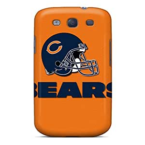 Premium Chicago Bears Back Cover Snap On Case For Galaxy S3