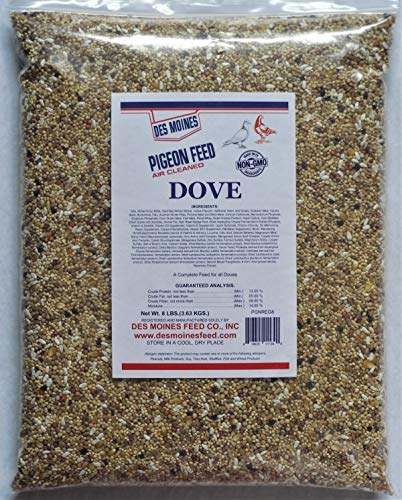 Des Moines Pigeon Feed Dove Mix 8 lbs ()