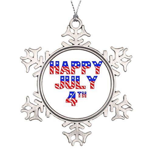Xmas Trees Decorated Independence Happy 4Th Of July July 4 House Decorating -