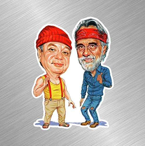 Workmas Vinyl Sticker Decal Cheech and Chong Wee Pot Up in Smoke Movie Tommy Joint, 3 inch