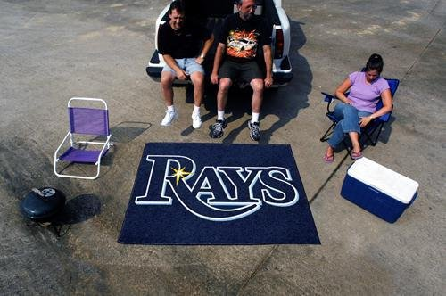 MLB - Tampa Bay Rays Tailgater (Floor Mat Rug Tampa Bay)