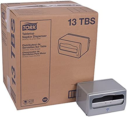 Amazon.com: Tork 13TBS Minifold Tabletop Napkin Dispenser, 4.5