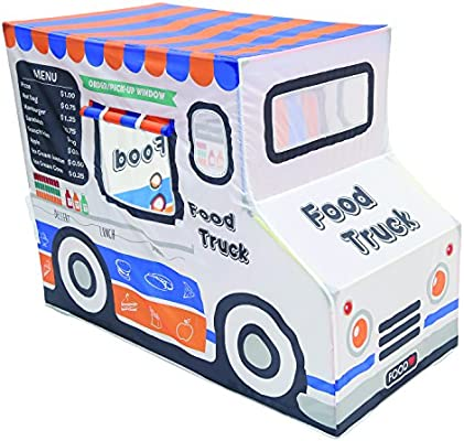 Pacific Play Tents 67110 Kids Polyester Food Truck Playhouse, 50