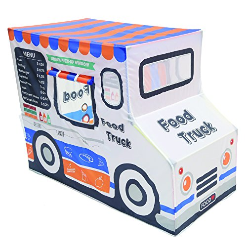 "Pacific Play Tents 67110 Kids Polyester Food Truck Playhouse, 50"" x 36"" x 29.5"""