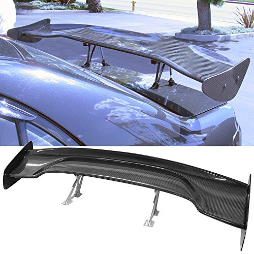 Trunk Spoiler Fits Honda Civic Accord Del Sol Prelude S2000 CRZ CRX | Rear Spoiler Wing Tail Lid Finnisher Deck Lip by IKONMOTORSPORTS | 1997 1998 1999 2000 2001 2002 2003 2004 2005 2006 2007 2008