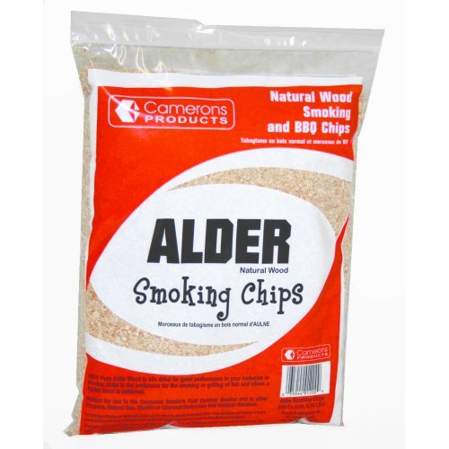 ips- 100% Natural Wood Smoking and Barbecue Chips- 2 lb. Bag (Alder Wood Doors)