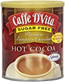 Caffe D'Vita Sugar Free Hot Cocoa, 10 Ounce Can