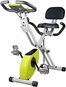 LSYOA Vertical Indoor Bicicleta Bicicleta Estática, Plegable ...
