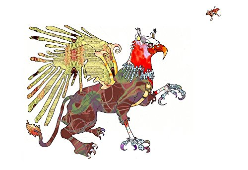 Griffin / Gryphon Art Print (Print Only /