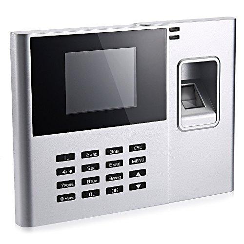 Face fingerprint attendance facial recognition business office punch card machine UK plug by SZYT (Image #1)