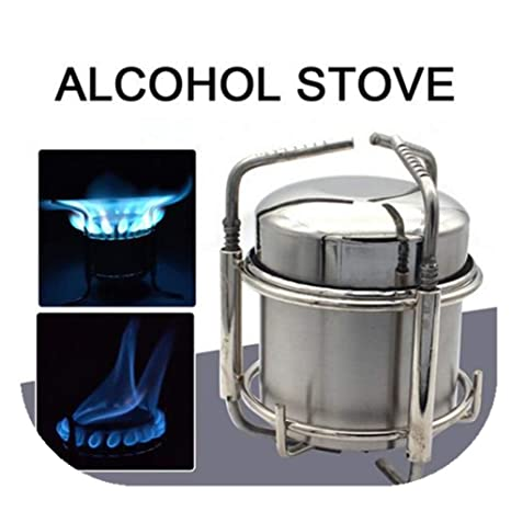 Nearthuk Estufa de Alcohol portátil Estufa de Camping y de ...