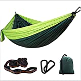 AFFC Camping Hammock Outdoor Quick Dry, Breathability, Wearable Nylon for 1 Person Fishing/Camping,5