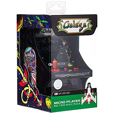 My Arcade - Consola Micro Player Retro Galaga a buen precio