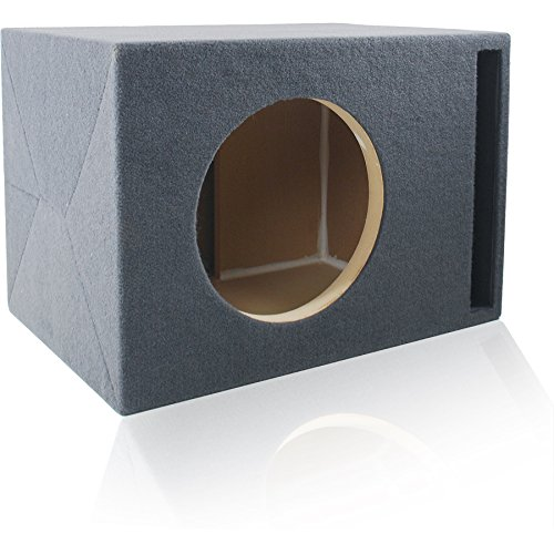 Ported MDF Subwoofer Enclosure for Single 12