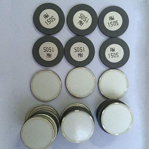 DDV-US Mist Maker 16mm / 20 mm atomizing transducer Ceramic humidifier Accessories ultrasonic transduce Membrane 4pcs/lot - (Color: Black, Size: 20mm) ()