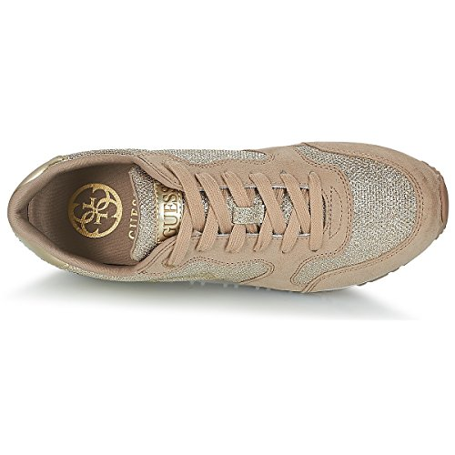 Gold Running Chaussures Sneakers Or Mode Guess Lady awRgSaq
