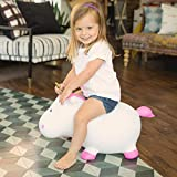 Farm Hoppers, Award Winning Inflatable Bouncing Unicorn with Pump