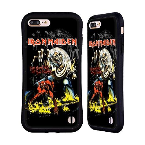 Official Iron Maiden NOTB Album Covers Hybrid Case for Apple iPhone 7 Plus / 8 Plus