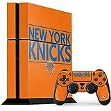 New York Knicks PS4 Console and Controller Bundle Skin - New York Knicks Standard - Orange   NBA X Skinit Skin