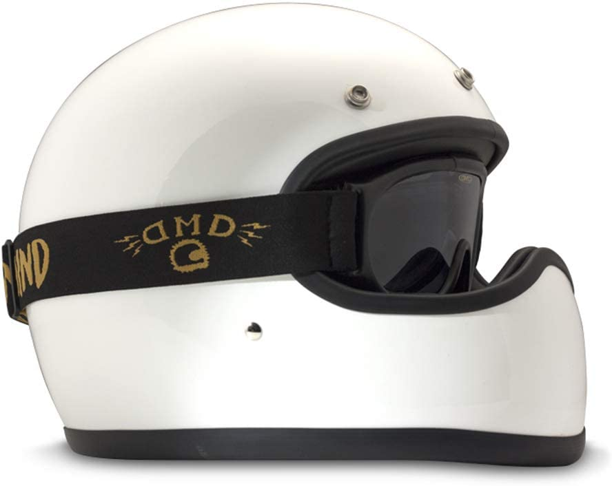 DMD Ghost Clear Motorrad Brille