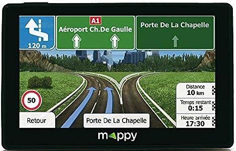 Carte Canada Mappy.Mappy Gps Iti E438t Ecran 4 3 Pouces 24 Pays Mise A Jour Gratuite Jusqu A 4 Fois Par An Noir