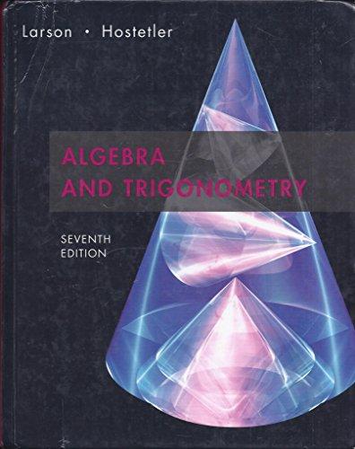 Algebra And Trigonometry 7th Edition Plus Eduspace