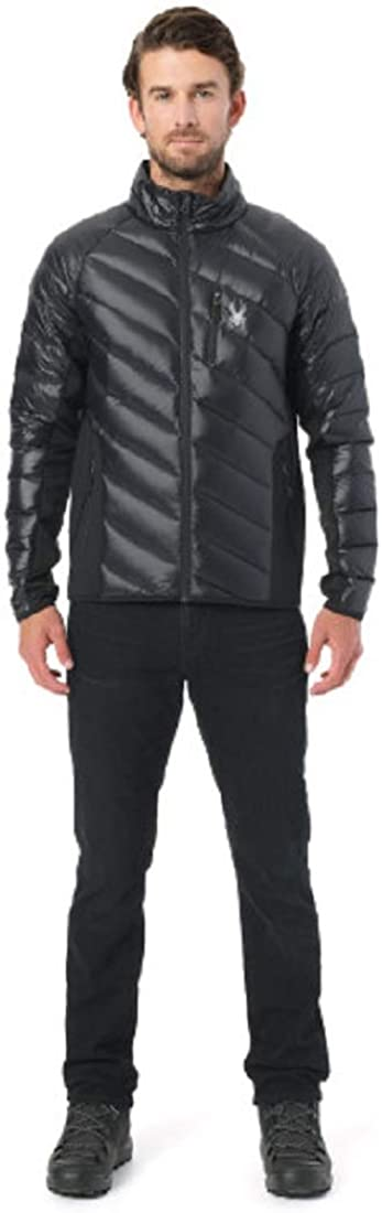 SPYDER Men/'s Syrround Hybrid Full Zip Waterproof Jacket for Winter Sports