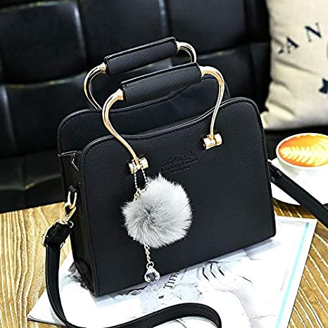 f0a38d3fa3365 Amazon.com: DingXiong Women Handbags Leather Party Ladies Simple ...