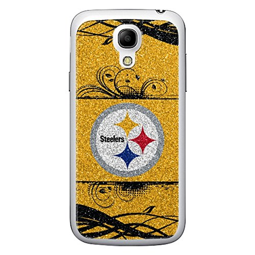 Maurice Sporting Goods NFL Pittsburgh Steelers Bling Galaxy S4 Applique, Yellow/Black