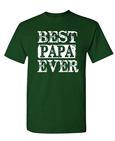d46c0d67 Amazon.com: fresh tees Best Papa Ever T-Shirt Father's Day Shirt Papa Tshirt  Gifts For Grandpa Father Day Gift: Clothing
