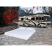 BESTSELLING Travel Comfort 8 SHORT QUEEN (2 FREE PILLOWS)Cool Sleep Gel Memory Foam Mattress for Campers, Rvs and Trailers