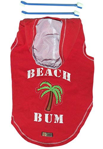 Top Big Size XXL Beach Bum Dog Hoodie Clothing Jacket, used for sale  Delivered anywhere in USA