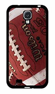 Zheng caseDetailed Football - 2-piece Dual Layer High Impact Phone Case Back Cover (Galaxy S4)
