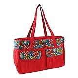 della Q Isabella Knitting Bag (18'' W x 11'' H x 6'' D); 110 Belmont 440-1-110